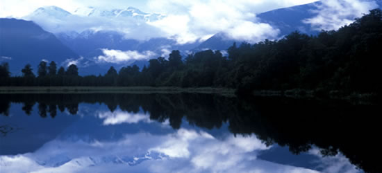 Reflejos en Lago Maca
