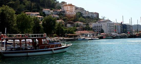 El puerto de Fethiye