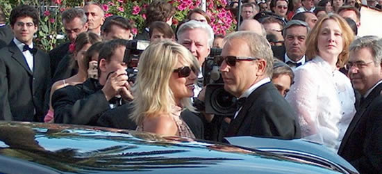 Kevin Costner en el Festival de Cine