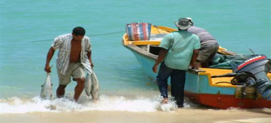 Pescadores locales, Seychelles