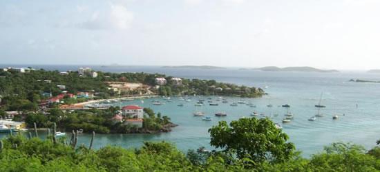 Cruz Bay, St Johns, Islas Vírgenes de EE.UU.