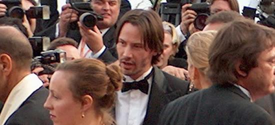 Keanu Reeves en el Festival de Cine, Cannes