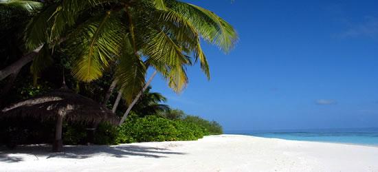 Playa de las arenas blancas