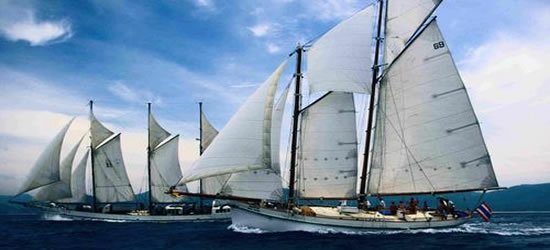 Carrera de embarcaciones clásicas, Phuket