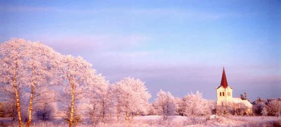 Invierno medio, Estonia