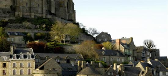 El pie del Mont St Michel