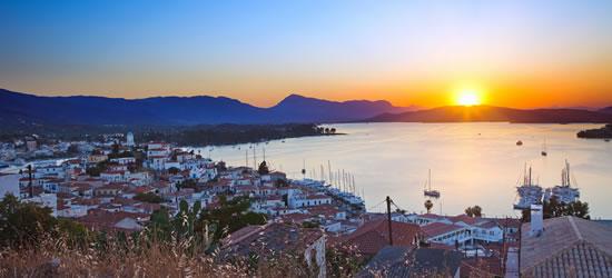 Poros, la isla de puestas de sol