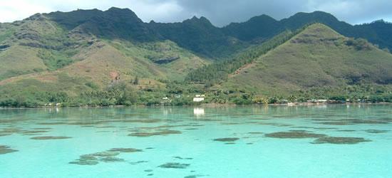 La laguna Azul