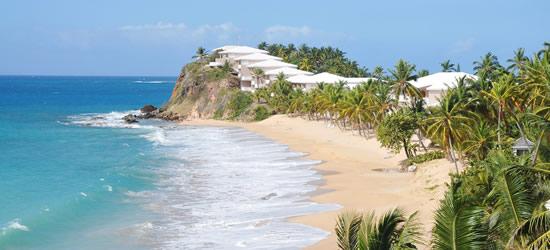 Costa noroeste de Antigua