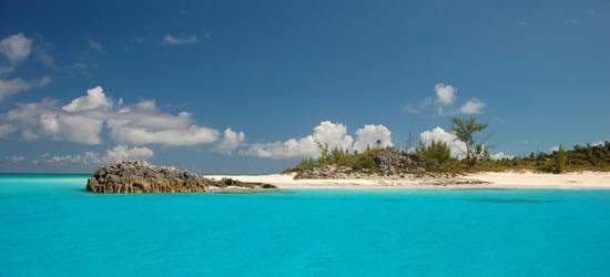 Vista desde un yate, Bahamas