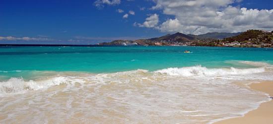 Playa de Grande Anse, Grenada