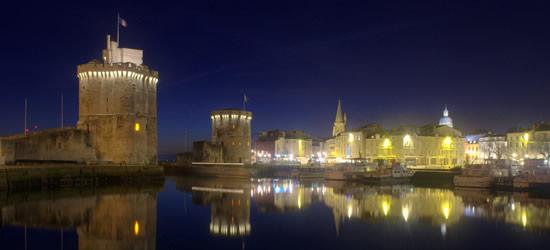 Puerto de La Rochelle, diciembre