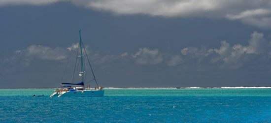 Tipo de azul, Tahití