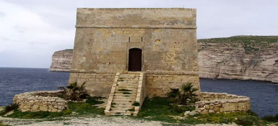La Torre Xlendi en Gozo