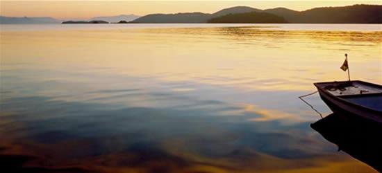 Los colores del agua de Parati