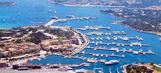 Vista aérea de Porto Cervo