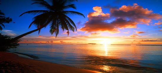 Posiblemente la foto de la puesta de sol más perfecta del mundo