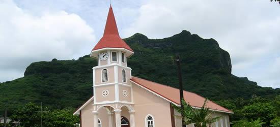 Iglesia protestante, Bora Bora