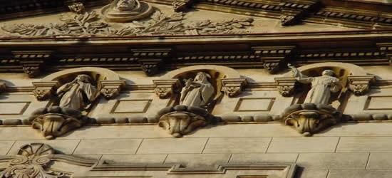 Detalles de la Iglesia de San Francisco