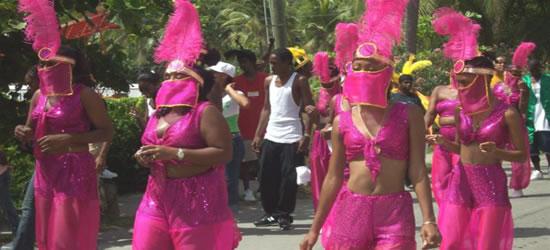 Carnaval de St Johns, Islas Vírgenes de EUA