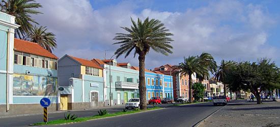 Calles coloridas de Sao Vicente
