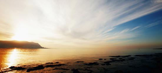 Salida del sol, Sicilia