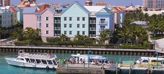 Los colores de las Bahamas