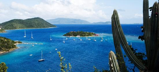Ver a Marina Cay y Virgen Gorda