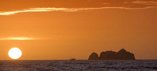 Puesta de sol, Los Roques