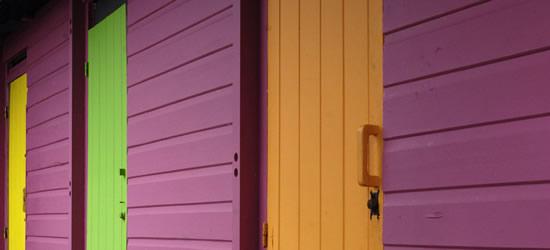 Multi-color Casas de Playa, Martinica
