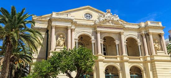 Ópera de Toulon, sur de Francia