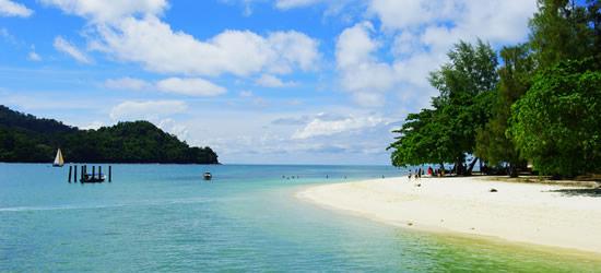 Hermosas playas, Langkawi