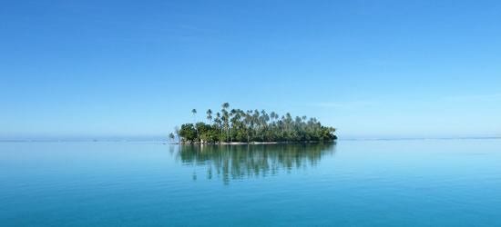Isla alejada de Raiatea