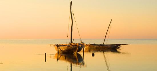 Puesta de sol, Zanzibar