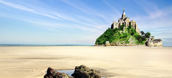 Mont Saint Michel, Bretaña