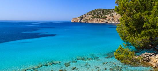 Playa idílica de Mallorca