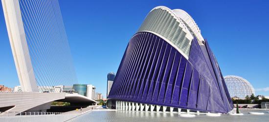 Ciudad de las Artes y las Ciencias y Centro Oceanográfico, Valencia