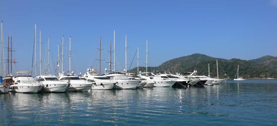 Gocek Marina, Turquía