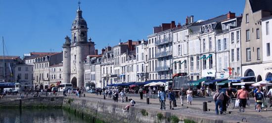 La Rochelle, Costa Oeste de Francia