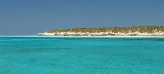 Turquesa Colores de las Bahamas