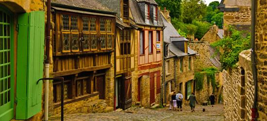 Bretaña medieval, Francia