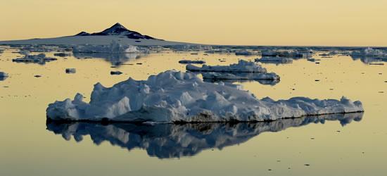 Islas flotantes, Antártida