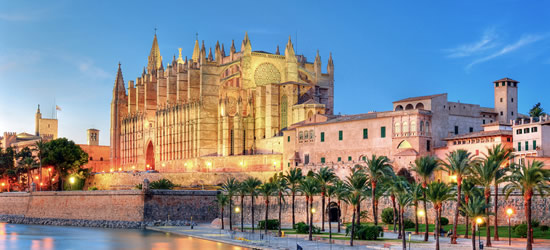 Catedral de Palma de Mallorca de Antoni Gaudi