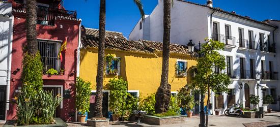 Ciudad vieja de Marbella