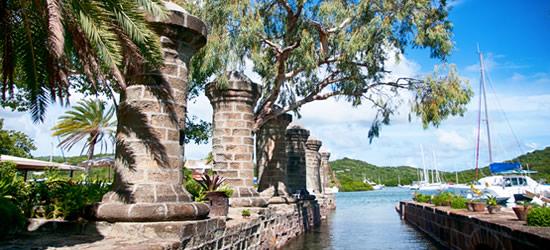 Astillero de Nelson, Antigua