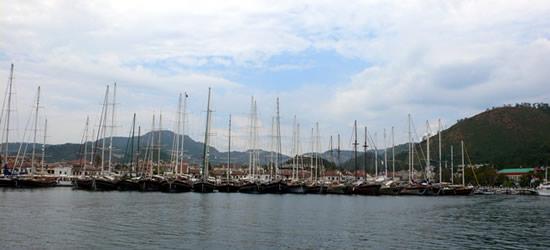 Puerto de Marmaris, Turquía