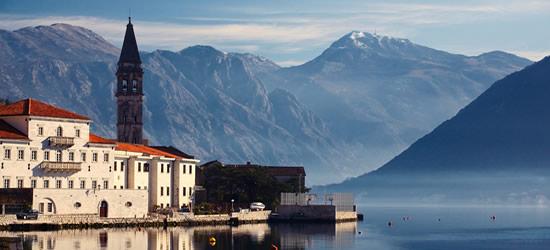 El pueblo de Perast, cerca de Kotor
