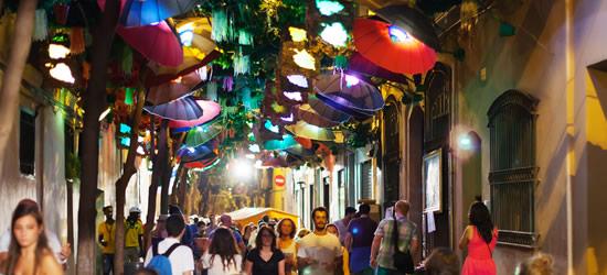 Festival de la calle Gracia