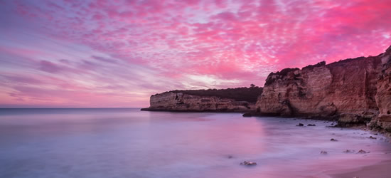 Fiery Red Sky, Portugal