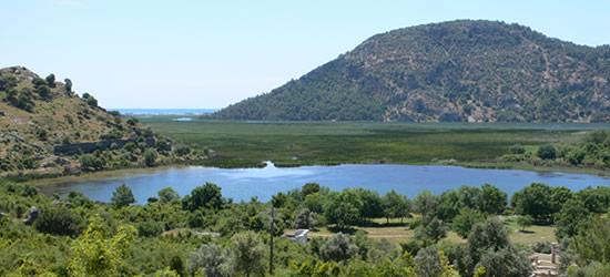 Vista desde Dalyan